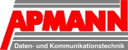 Logo Apmann Daten- und Kommunikationstechnik GmbH & Co. KG